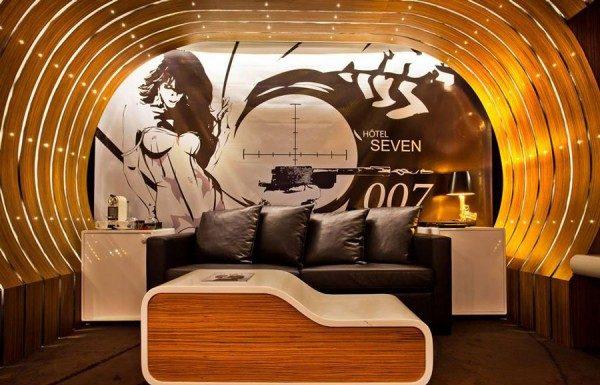 Suite James Bond 007 à Paris