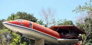 Dormi dans un Boeing au Costa Rica