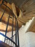 Escalier moulin à vent Poitou Charentes