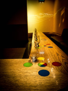 Le verre avec lequel vous repartirez à la fin de la visite! Crédit photo: Maxime Baude