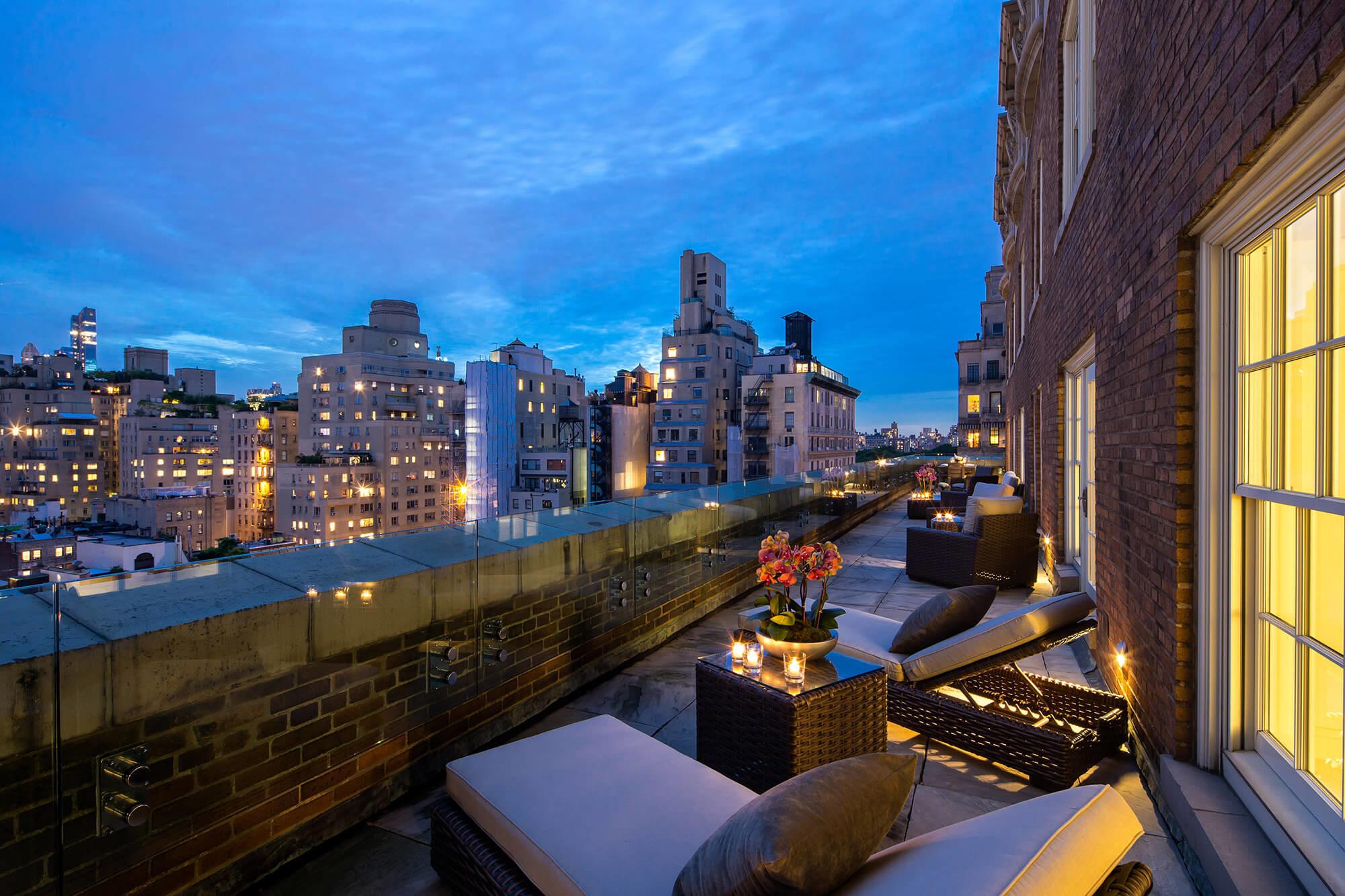 Belle vue depuis cette suite de luxe! Crédit photo: http://www.themarkhotel.com