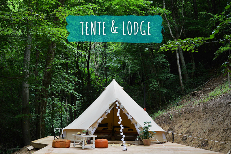Nuit insolite Tente Lodge