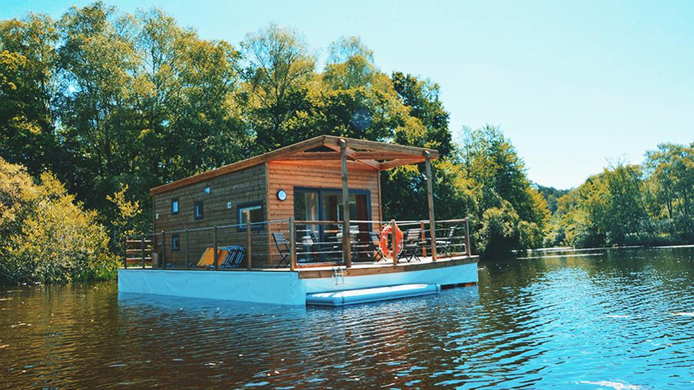 Maison flottante Aquapesca