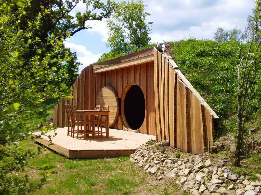 Maison de hobbit de Balbuzard