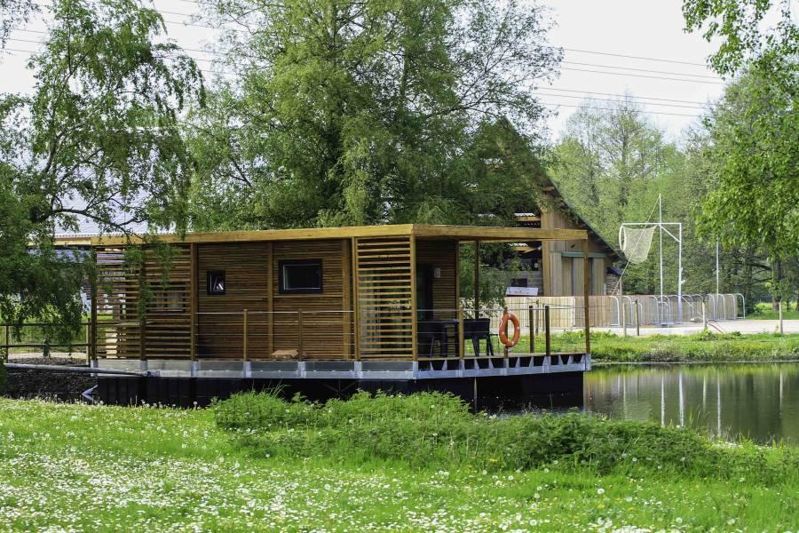 Cabane sur l'eau à moins de 2h de Paris